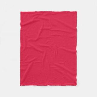 "Fleece Blanket 30""x40"" - Crimson"