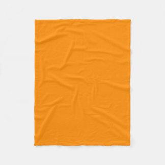 """Fleece Blanket 30""""x40"""" - Dark Orange"""