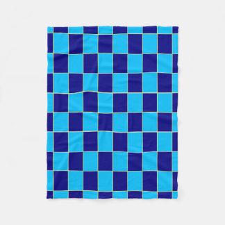 """Fleece Blanket 30""""x40"""" - Oblong Check"""