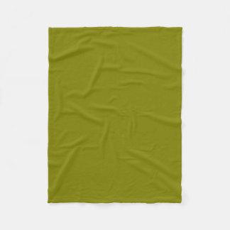 """Fleece Blanket 30""""x40"""" - Olive"""