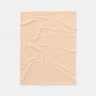 "Fleece Blanket 30""x40"" - Peach Puff"