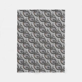 Fleece blanket of beautiful handmade design