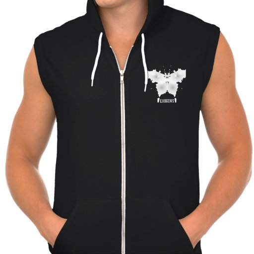 Fleece hood waistcoat EXOGENIS Pullover