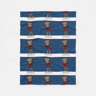 Fleece Kids Blanket - Mumbai Monkey™