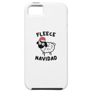 Fleece Navidad iPhone 5 Covers