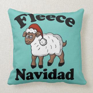 Fleece Navidad Pillow