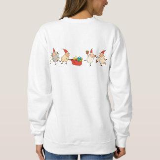 Fleece Navidad Sweater (with back design)