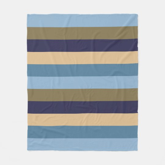 Fleece Stripes Blanket
