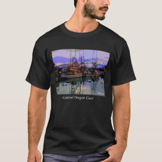 Fleet at Rest,  Oregon Coast              ... T-Shirt