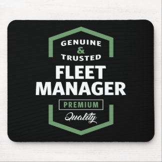 Fleet Manager | Gift Ideas Mouse Pad