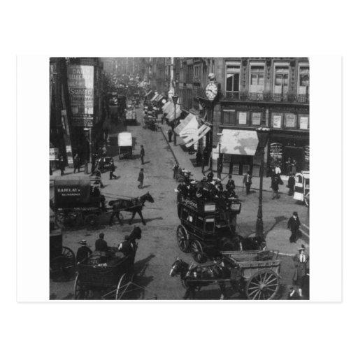 Fleet Street London 1904, England U.K. Post Cards