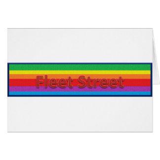 Fleet Street Style 3 Greeting Card