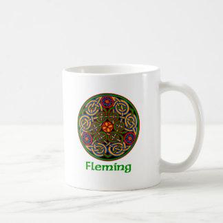 Fleming Celtic Knot Basic White Mug