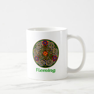 Fleming Celtic Knot Coffee Mug