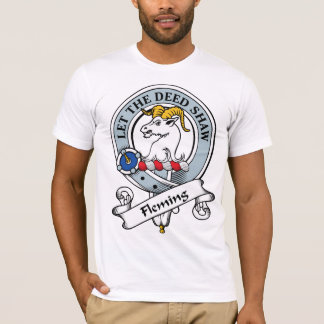 Fleming Clan Badge T-Shirt