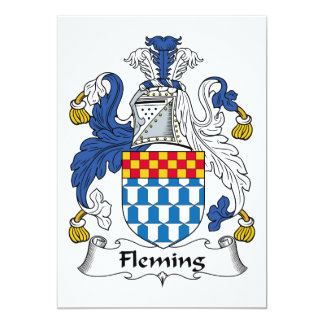 Fleming Family Crest Card