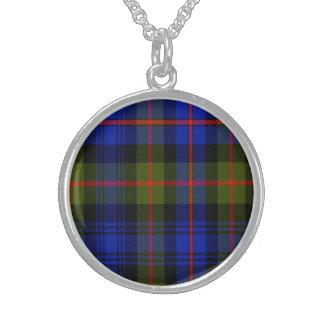 Fleming Scottish Tartan Sterling Silver Necklace