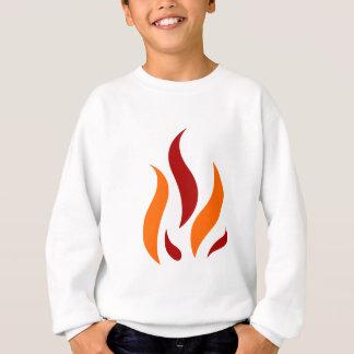 Fleming talk orange sweatshirt