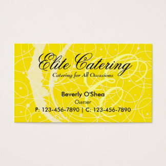 Flemish Business Card/ Yellow Business Card