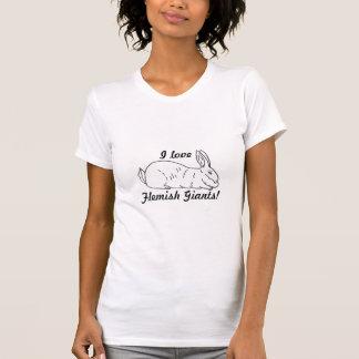 Flemish Giant Rabbit Ladies T-Shirt