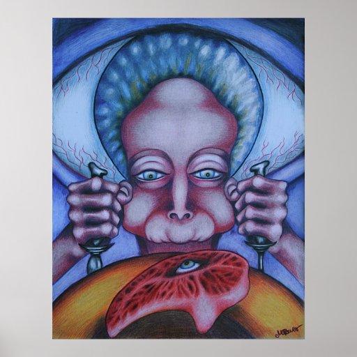 Flesh Eater - Canvas Print
