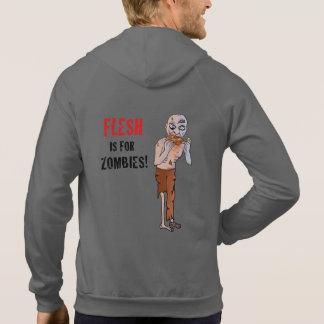 Flesh is for Zombies Vegan Hoodie