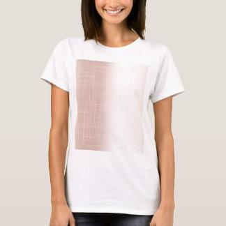 Flesh Pink Grunge Effect Background T-Shirt