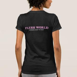 FLESH WORLD TEE SHIRTS