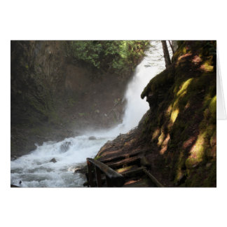 Fletcher Falls, British Columbia, Canada Card