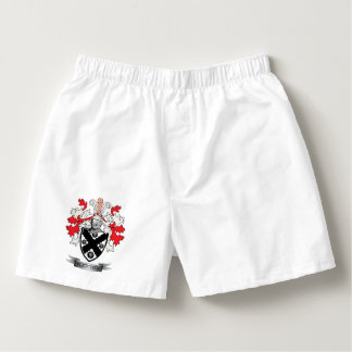 Fletcher Family Crest Coat of Arms Boxers