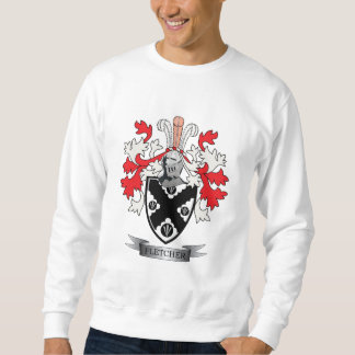 Fletcher Family Crest Coat of Arms Sweatshirt
