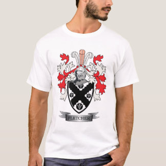 Fletcher Family Crest Coat of Arms T-Shirt