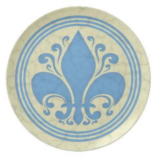 Fleur de Antique Dinner Plates