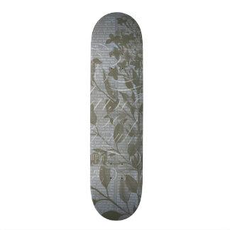 Fleur de Bleu I Skateboard Deck