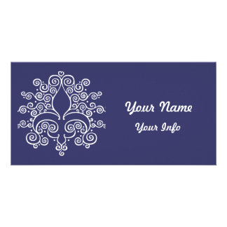 Fleur De Lines Personalised Photo Card