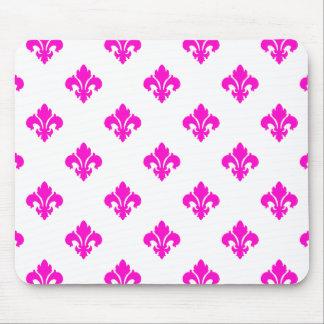 Fleur De Lis 1 Pink Mousepad