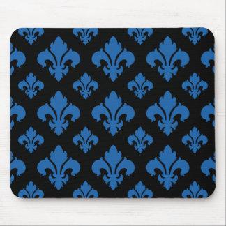 Fleur De Lis 2 Dazzling Blue Mouse Pad