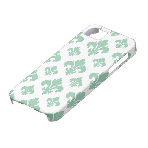 Fleur De Lis 2 Hemlock Case For iPhone 5/5S