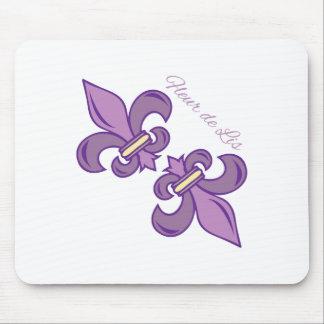 Fleur De Lis 2 Mousepad