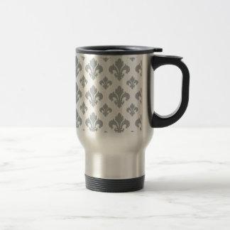 Fleur De Lis 2 Paloma Coffee Mugs