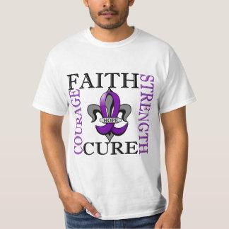 Fleur De Lis 3 Epilepsy T-shirts