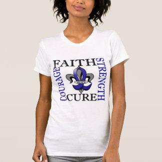 Fleur De Lis 3 Huntington's Disease T-Shirt