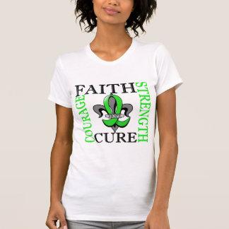 Fleur De Lis 3 Muscular Dystrophy T-Shirt