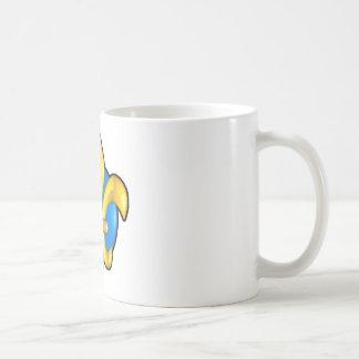 Fleur-de-lis-3d Coffee Mugs
