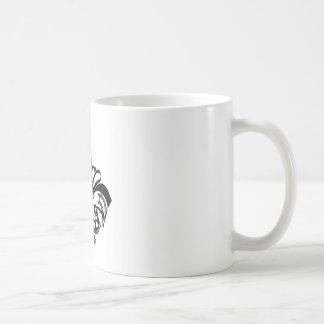 Fleur De Lis 4 Coffee Mugs