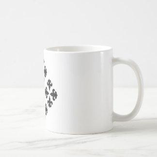 Fleur De Lis 7 Coffee Mugs