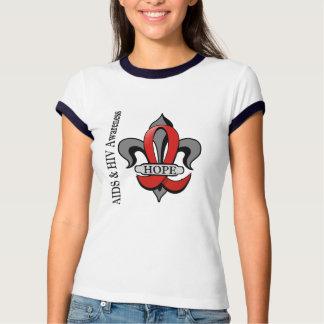 Fleur De Lis AIDS Hope Shirt