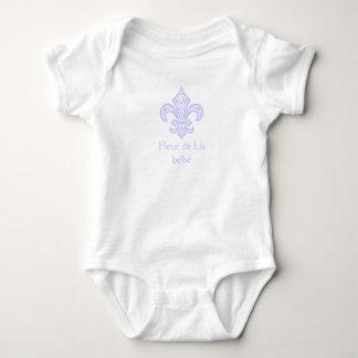 Fleur de Lis bébé™ Lavender Baby Bodysuit