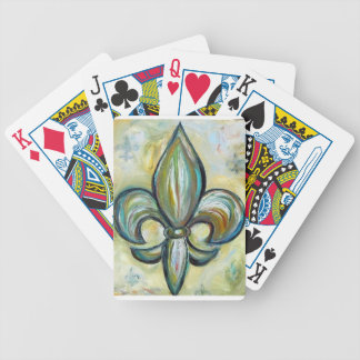 fleur_de_lis bicycle playing cards