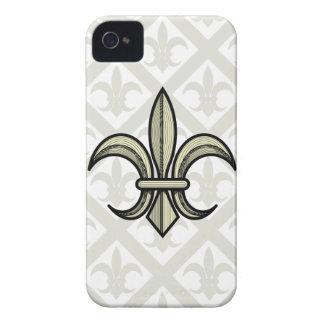 Fleur-de-Lis Blackberry Case (gold)